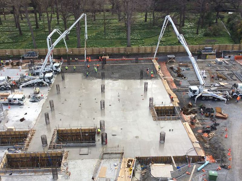 Learn about our Concrete Pumping services